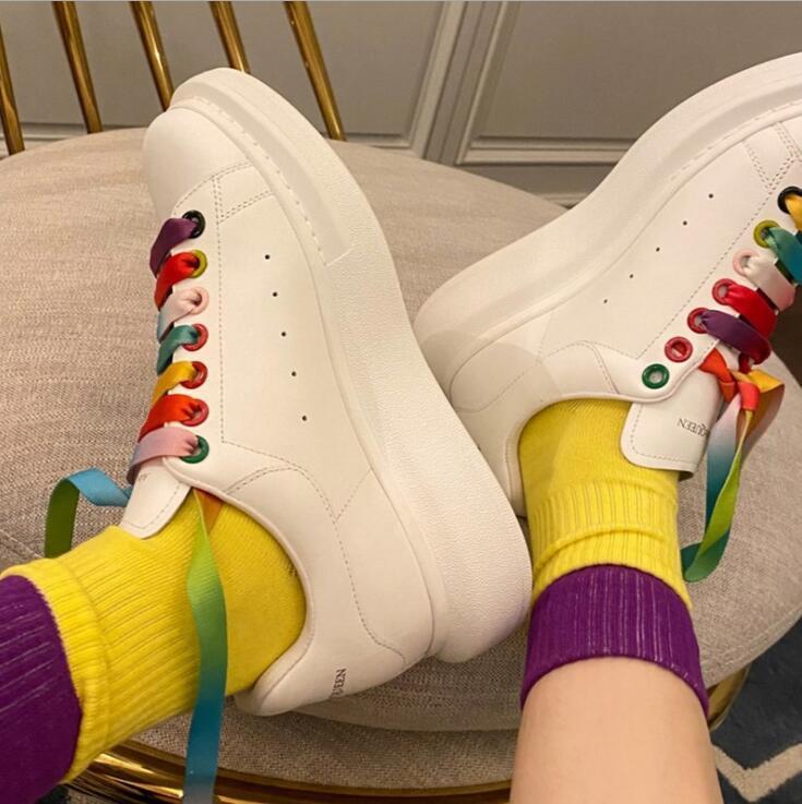 2021 роскошные повседневные туфли для мужчин и женщин, шнуровки, повседневные, модные, модные