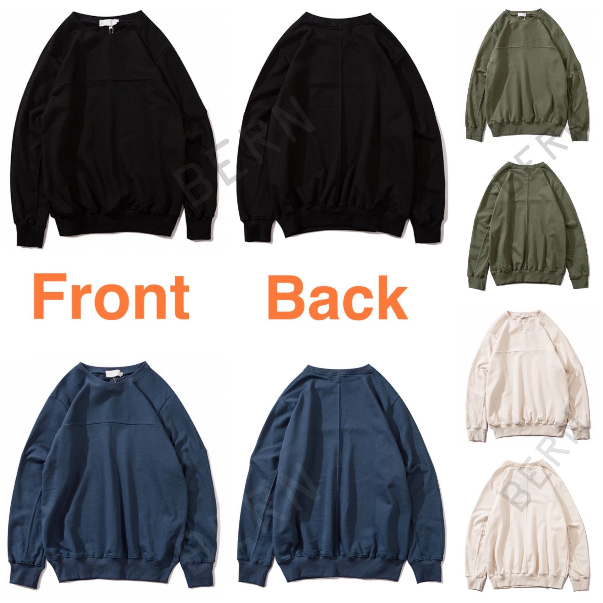 # 811 # 8104 # 9919 En Satıcı Moda Sonbahar Kış Erkek 108 Uzun Kollu Hoodie Hip Hop Tişörtü Coat Casual Giyim Triko M-2XL