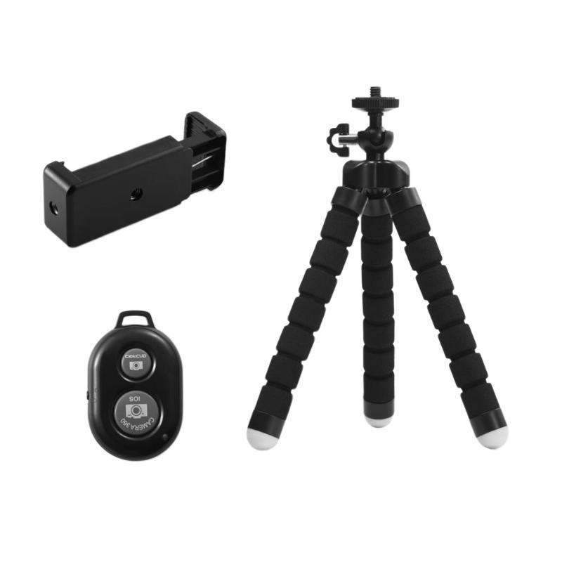 Мини Гибкий Губка Осьминог штатив для Samsung Huawei Мобильный телефон Смартфон Штатив для 8 7 5 Camera