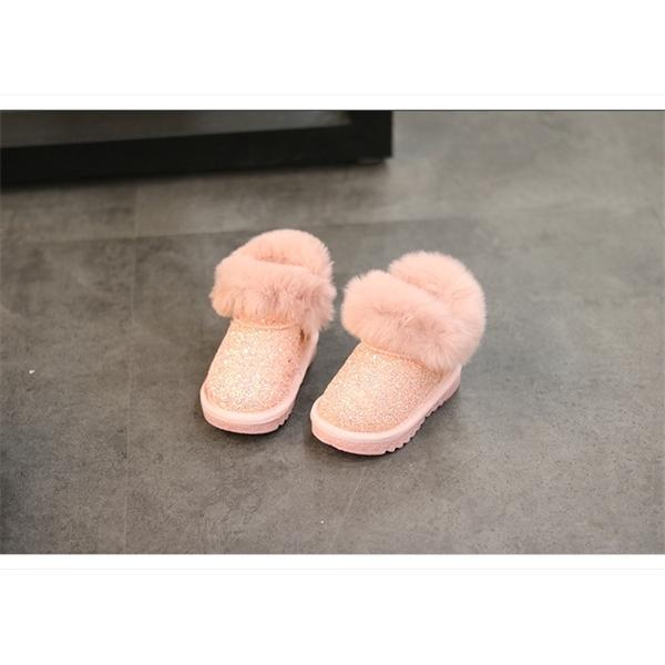 Moda para niños Niñas Bling Bling Botas de nieve Bebé Botines Botas de Bebé Zapatos Bebé Niños Niños Bootiesx1024