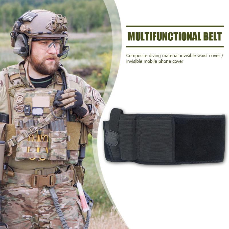Cintura de la caza de la caza de la supervivencia al aire libre de la cintura del neopreno para el cinturón de la cintura multifunción para un accesorio de ejercicio efectivo
