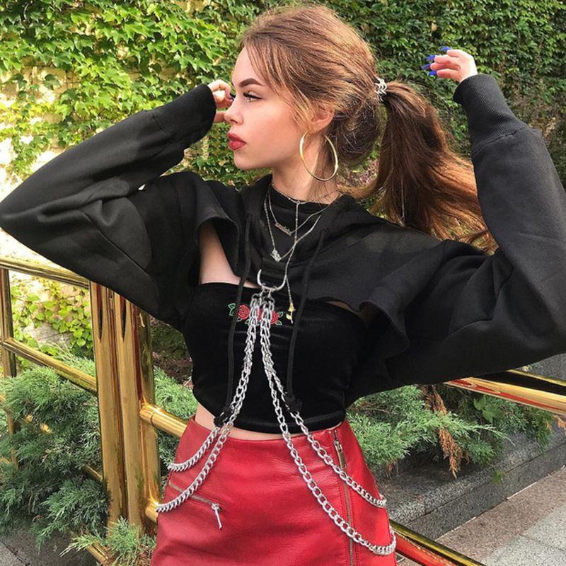o outono e inverno 2020 nova moda sorrie senso de mulher ultra curto aberto