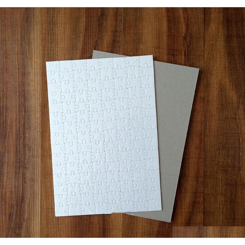 A4 Sublimación Puzzle Puzzles Impresión en blanco Jigsaw Press con piezas 120 PU Transferencia de calor Crafts SQCPZI SPORTS2010 NIMKT