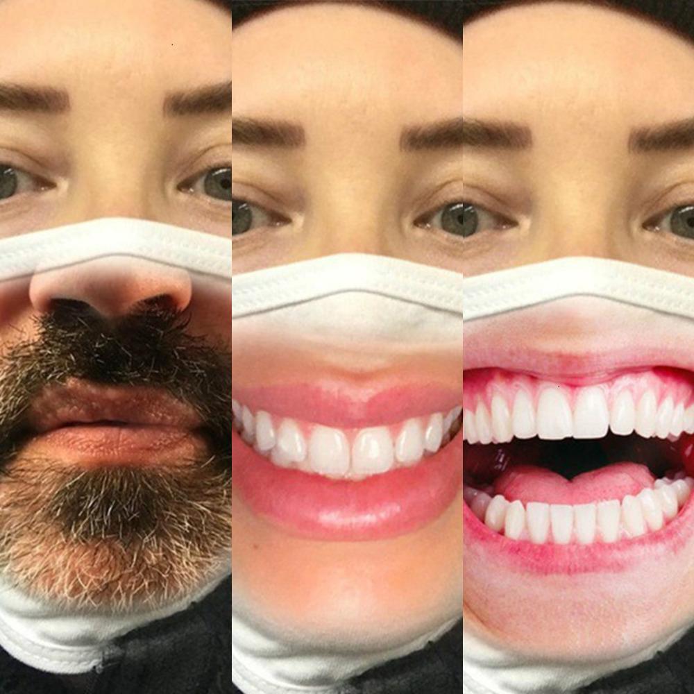 Uu1mhu usine prix concepteur visage masque rouge hommes expressions faciales drôles commerciaux francs-frontaux de coton anti-poussière franco-frontières Prin 8 n