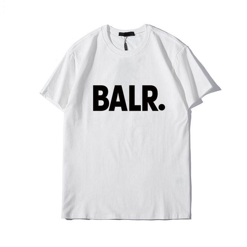 Yeni balr erkek tasarımcı marka tişört yaka kadın kısa kollu Paris İtalya marka ATÖLYE kaliteli pamuk baskı 3 Rue de Marignan