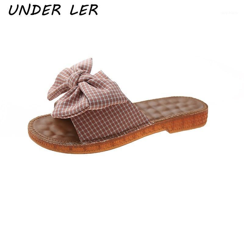 Chinelos de verão mulheres sapatos verão chinelos liso curva mulheres moda 2020 novo tamanho grande sapatos1