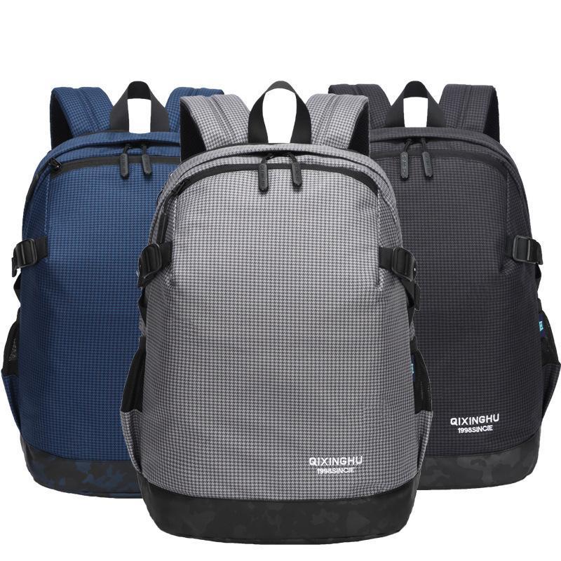 Semplice Zaino per il tempo libero Borsa da viaggio Computer Xsqcr Business Sport Schoolbag Uomo Outdoor New Sueua