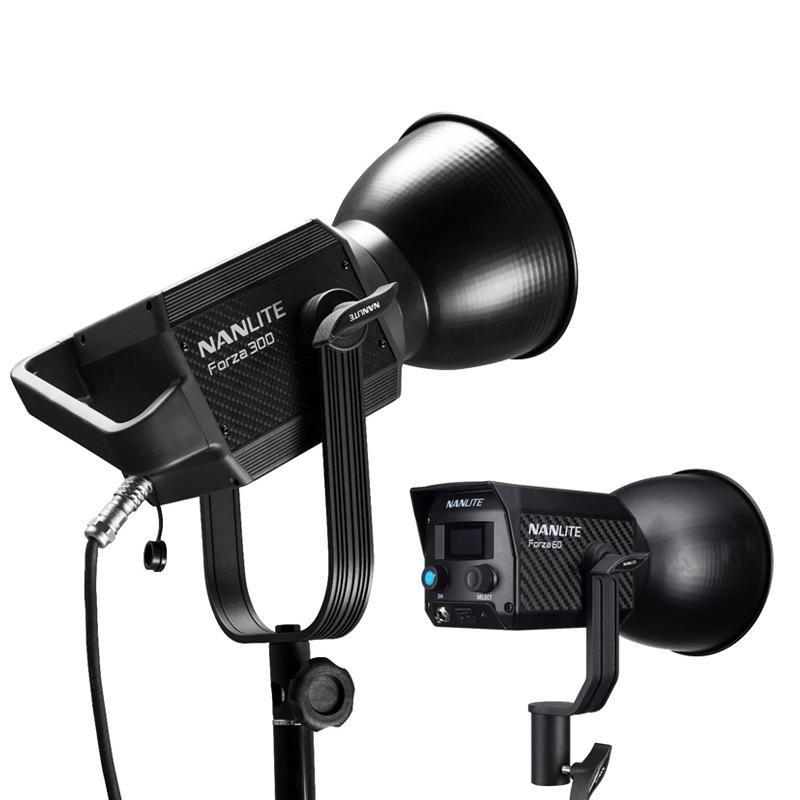 NANLITE Forza 300w NanGuang Forza300 LED Photographic Lighting 5600K 2.4G Wireless APP WIFI Control Fill Light Spotlight