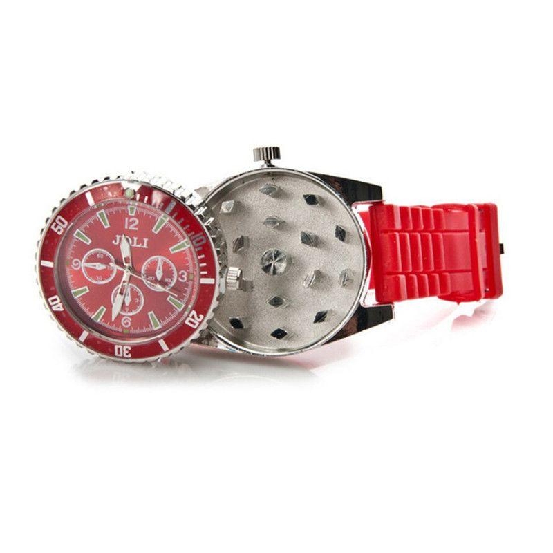 42 мм часы курительная трава шлифовальщик цинковый сплав металл 4 цвета специи пыльца творческая рука мюллера дробилка