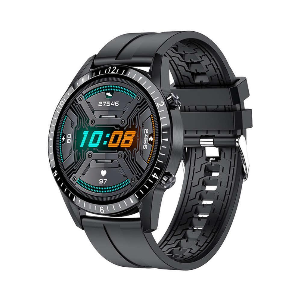Smart Smart Blood Watch Pression de la fréquence cardiaque Call UP 1.3 pouces Haute Définition Écran tactile complet Bracelet Multi Sport IP67 imperméable