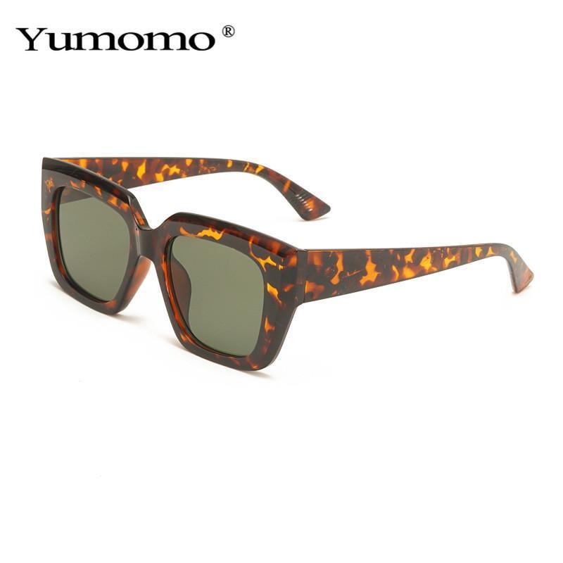 Мода Cat Eye Солнцезащитные очки Женщины Винтаж Желе Розовые Очки Trending Мужчины Квадратные Солнцезащитные Очки оттенки UV400