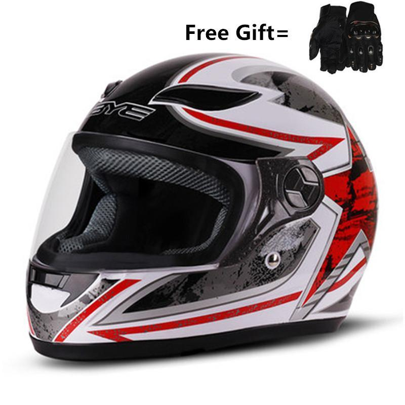 Professionelle Motocross Helme Off-Road-Motorrad Motocicleta Capacete Casco Crosshelm Motorradhelm dot capacete rot