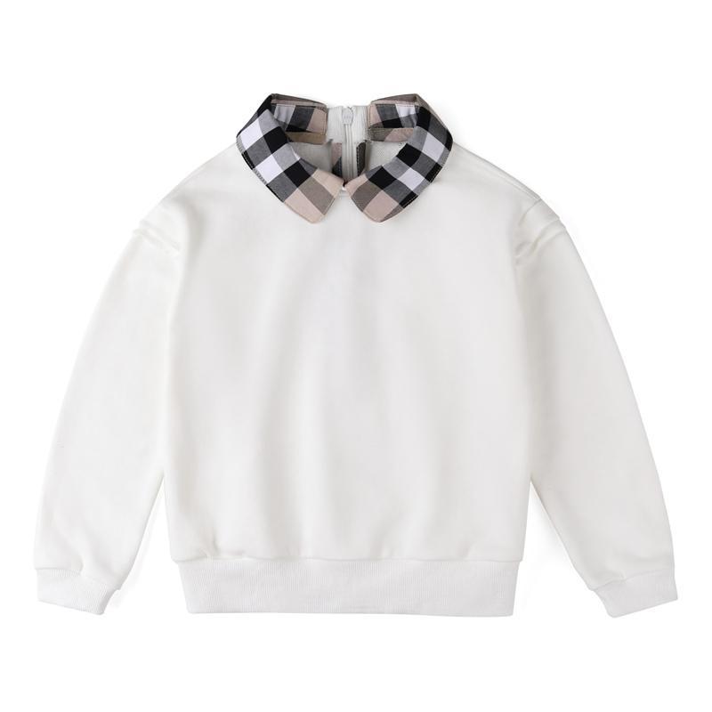Felpe con cappuccio Bambini Felpe per bambini Baby Cotton Pullover Tops Girls Girls Autunno Vestiti Neonata Vestiti