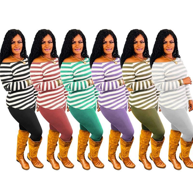 des femmes des deux pièces ensemble survêtement collants chemise pull pantalon de survêtement chemise sport à manches longues de pantalons de sport H9221 chaud