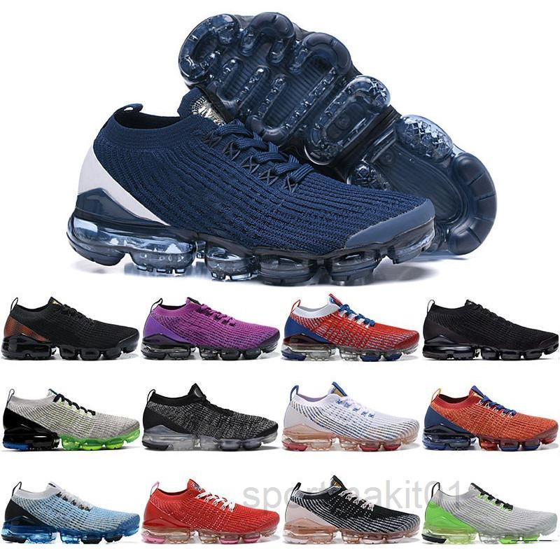 New Fly 3.0 Mens Sapatos Casuais EUA Vast Cinza Estuque Escuro Vívido Roxo Black Snakeskin Nobre Red Knit Homens Mulheres Treinadores Sneakers Hjs5