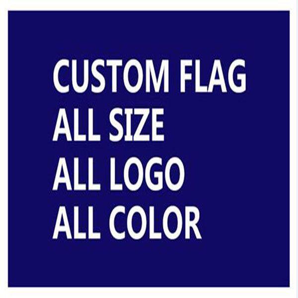 Настройка пользовательских печатных флаг баннер дизайн оптом высокое качество 90 * 150см 3 * 5fts готовы к отправке 100% полиэстер
