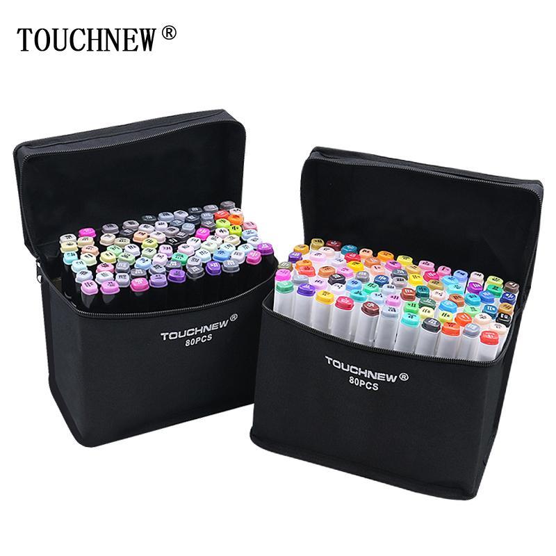 TouchNew Markers для рисования алкогольных маркеров двойной головки на эскизный маркер для Sketchingt Blender Blender 201120