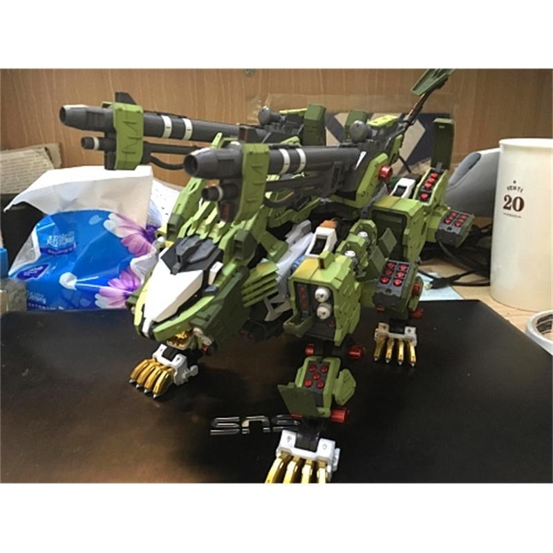 Liger 2019 Yeni Yapı Kitleri BT 1/72 ZOIDS Sıfır Panzer Gundam Orijinal Kutusu ile Monte Model Anime Action Figure