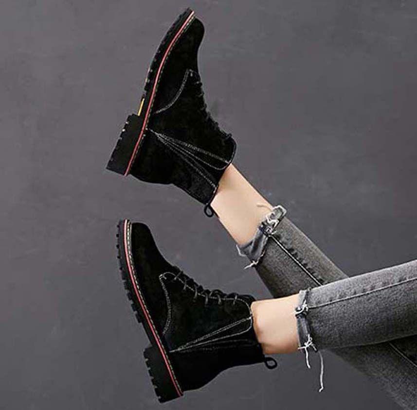 Мода кожа звезда женской обуви женщина кожа короткие осенние зимы лодыжки моды женщин сапоги Мартин сапоги снега сапоги P101