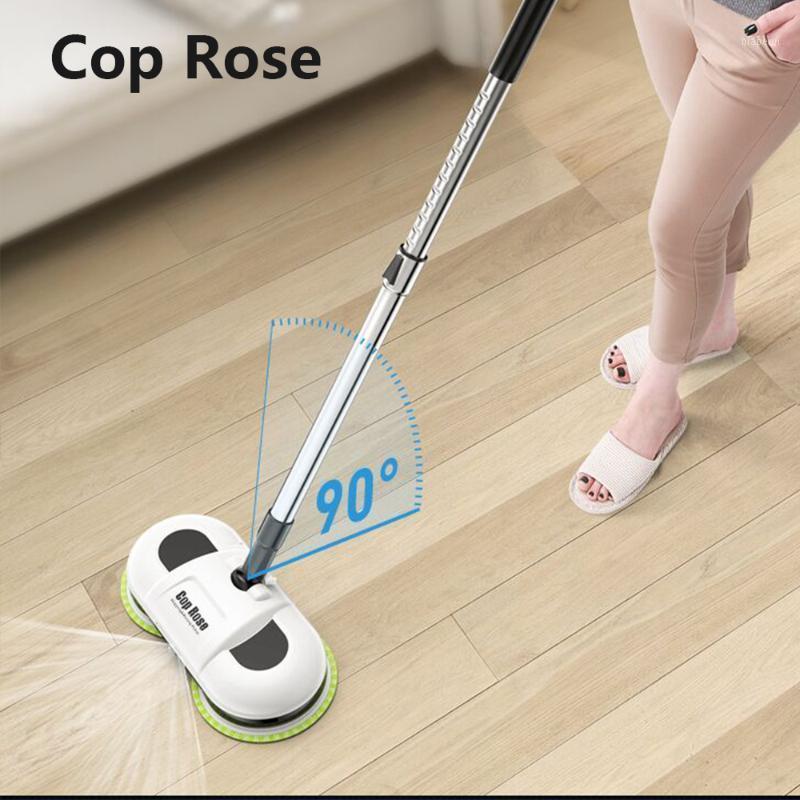 Drahtlose elektrische Boden Mops Wassersprühne Nass Mopping Handheld Moppreiniger Haushalt nass Trockenwinkelreinigung Wachsen für Boden1