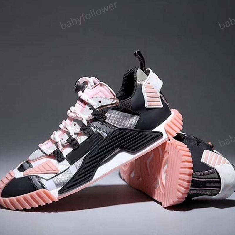 Best luxurys design Men Women Luxury Sneakers Brands Shoes Lace Up Running Shoes with Top Quality shoes size 35-45