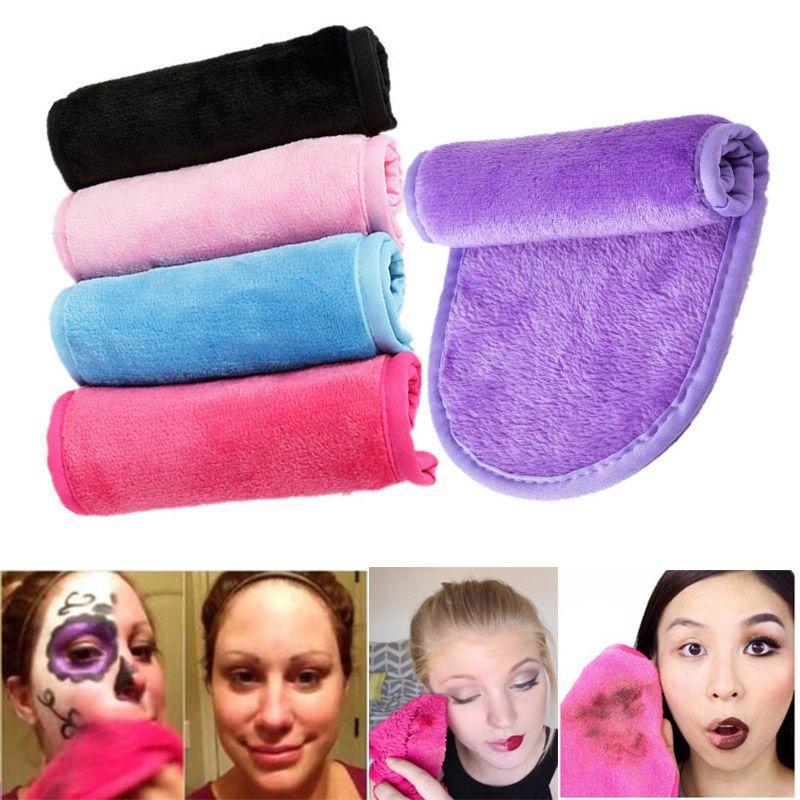 Magia morbido Makeup Remover tovagliolo riutilizzabile in microfibra di pulizia del fronte della pelle Eraser asciugamani pigro bellezza pulita viso Pulire panno lavare panni