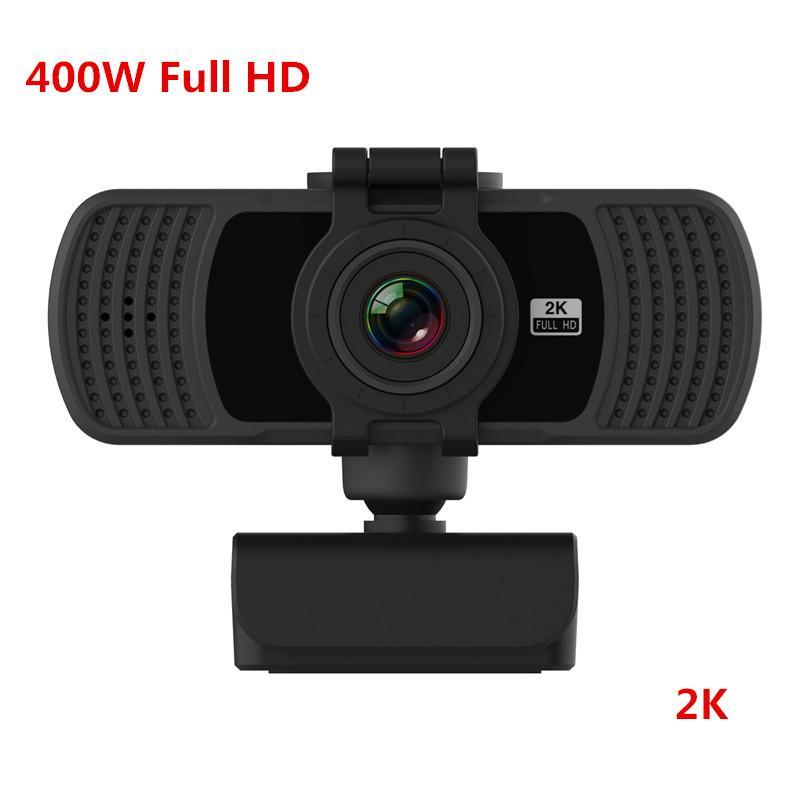 2020 beste Verkaufs-Full-HD-Webcam 1080P 400W 2K USB-Web-Kamera für Computer PC Laptop USB-Webcam-Kamera mit eingebautem Mikrofon