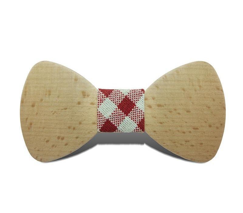 Sitonjwly Bricolage Bowtie en bois pour hommes Costumes Gentleman noeuds papillon à la main en bois de fête noeuds papillon papillon mince cravate pour Man22