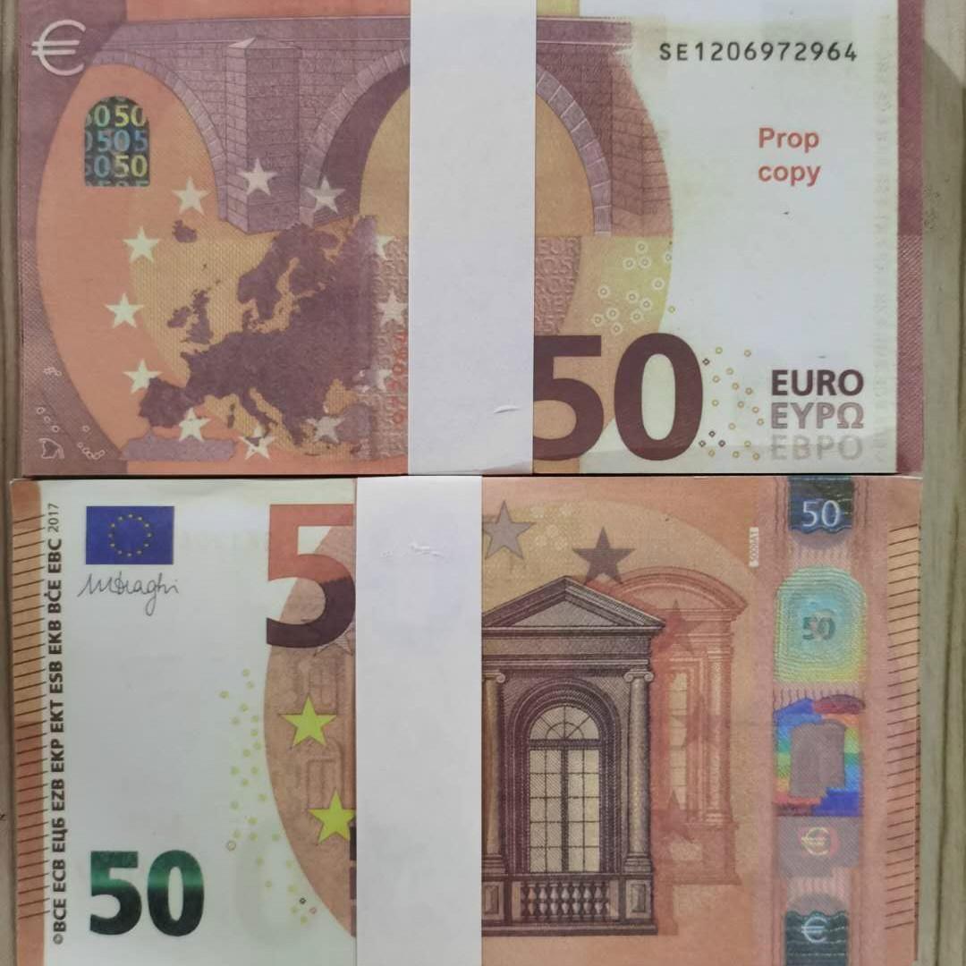 PROP EURO COPY spielzeug faux billet geld 50 trick kinder geldfestival banknote präsentiert großhandel prop stage urlaub party währung nlqcd