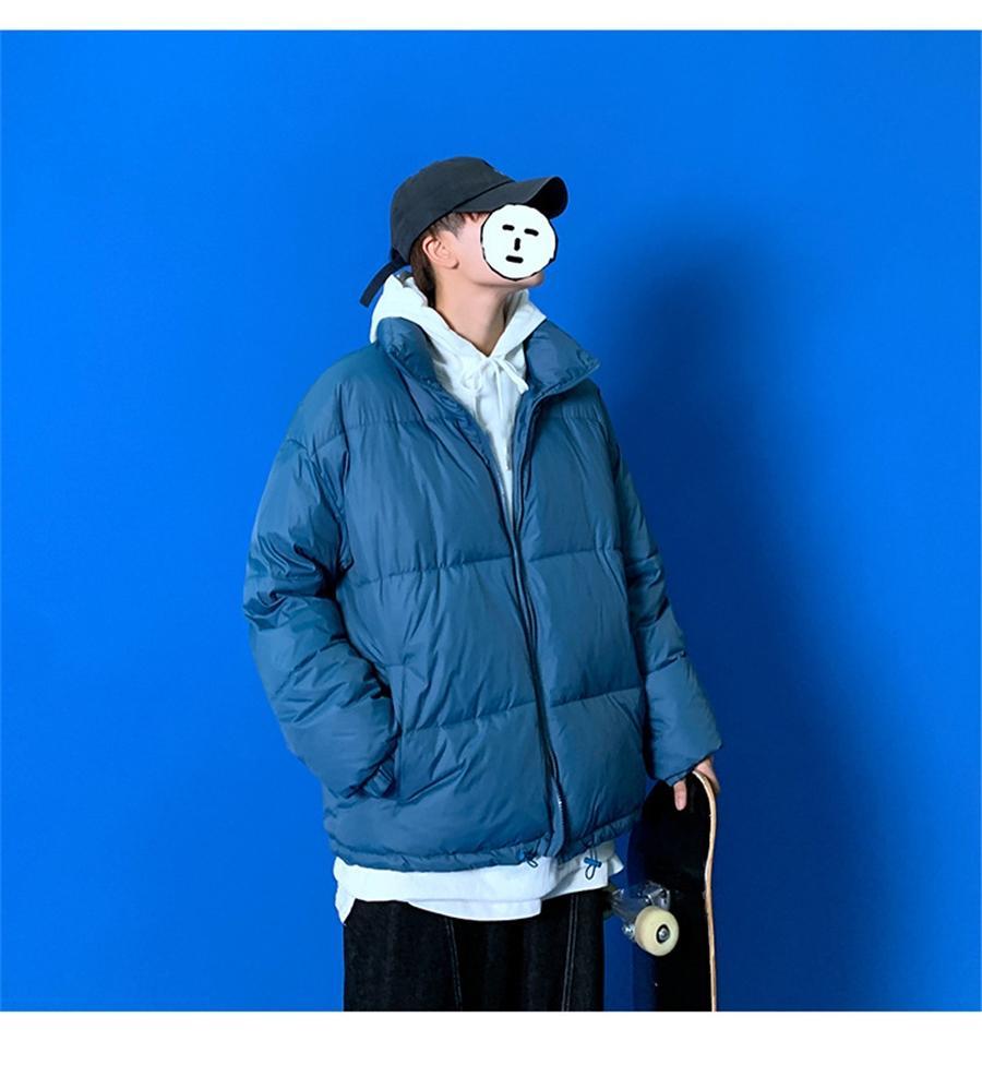 IG QLI Instagram Winter plus für Männer Korean SLE Baumwoll-gepolsterte Jacke Lose-Paar-Baumwolljacke für Frauen Scooloy S-3XL # 170 # 765111