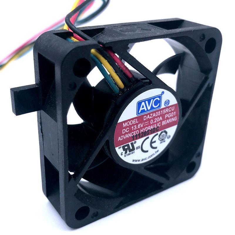 waterproof fan Brand New For AVC DAZA0515RCU 5CM 5015 refrigerator fan DC 13.6V 0.20A