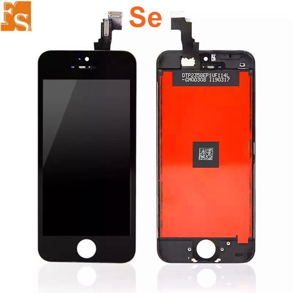 LCD Screen for iPhone 5S SE 5C 5G LCD Touch Digitizer Cold Press Frame Assembly No Dead Pixel DHL Free shipping
