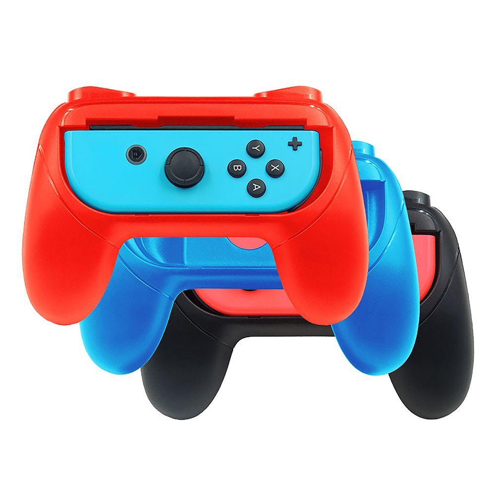 NS Kontrolörü Gamepad Handgrip Standı için Anahtarı Joycon Parantez Tutucu Kol El Grip Case Sol + Sağ Gamepad