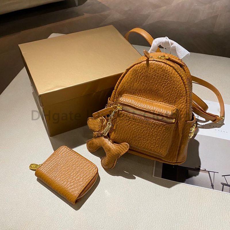Рюкзак стиль девушки рюкзак kawaii женщин модные сумки писем емкости ведро ведро призывов звена леди сумки