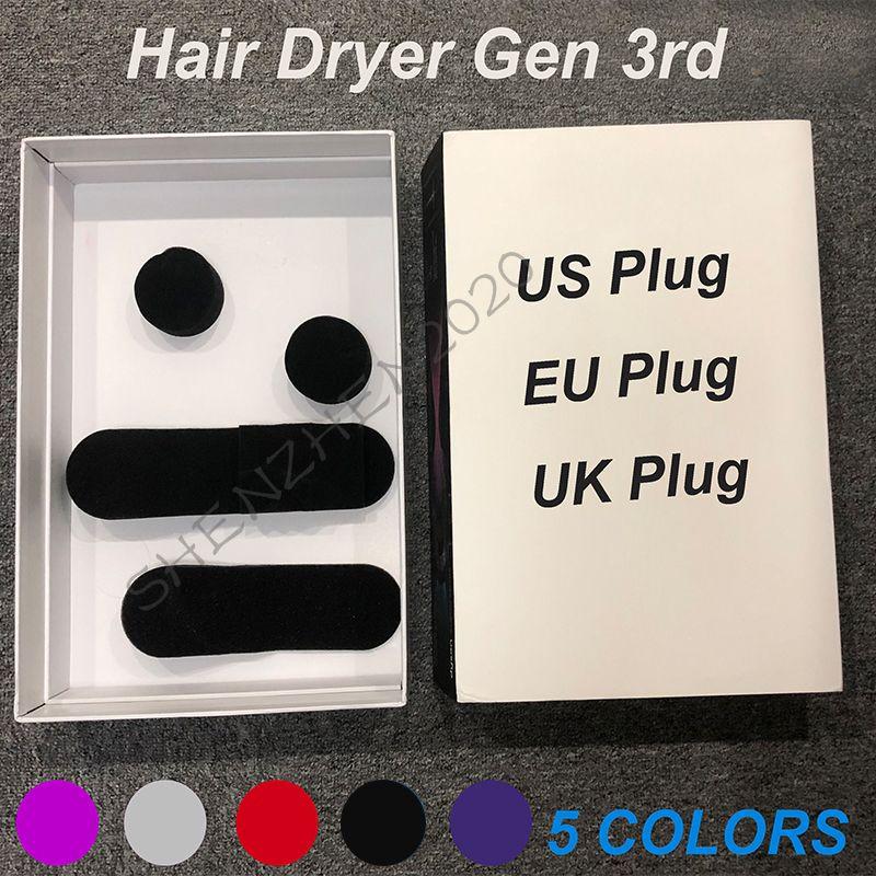 جديد gen3 الجيل الثالث لا مروحة مجفف الشعر المهنية أدوات الصالون ضربة مجفف الحرارة سرعة سريعة منفاخ مجففات الشعر الجافة sshipping