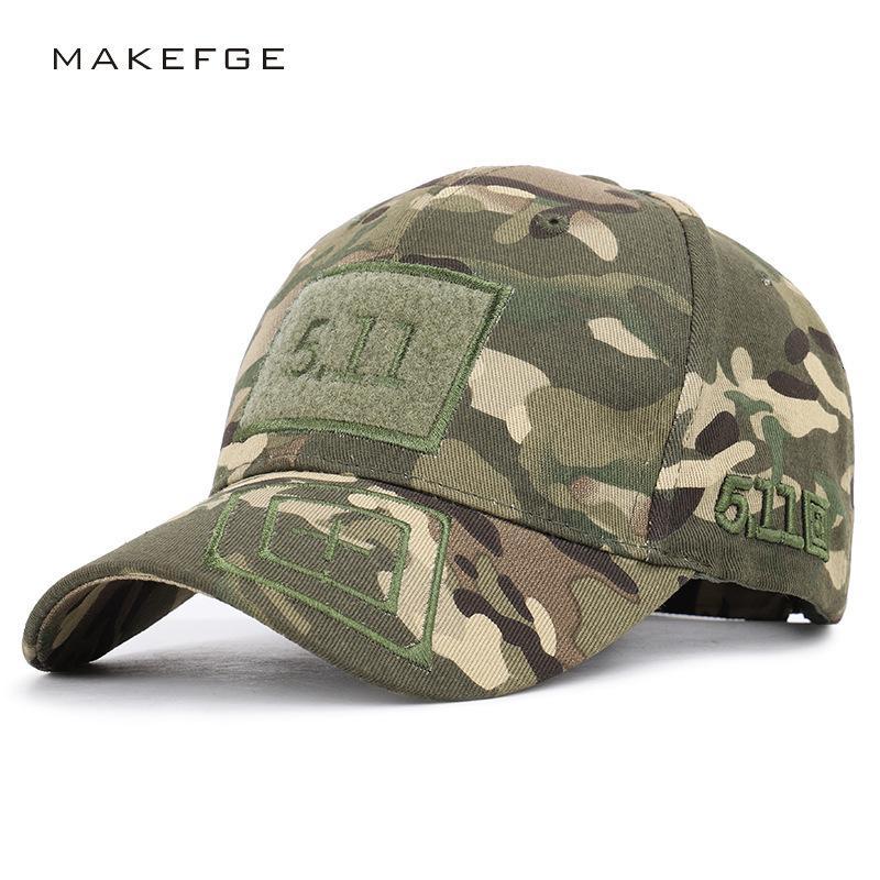 Neun neue 511 Baseballkappen Army Green Camouflage Outdoor Taktischer Dschungelhut 5.11 Kappe