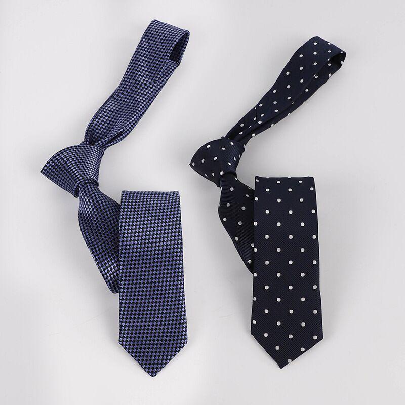 SHENNAIWEI de Gravatas para Homens pour les neties hommes cravate à rayures jacquard Corbatas