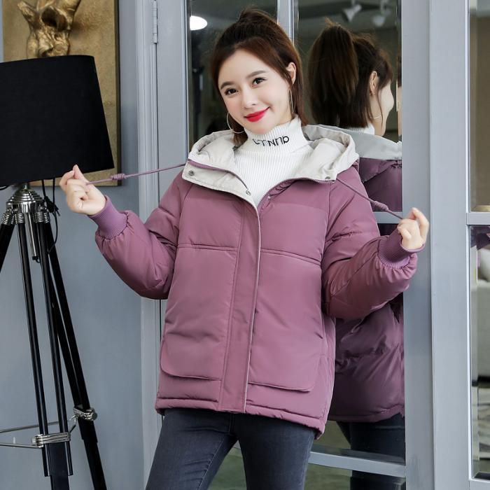 Fv9901 2020 nueva chaqueta caliente ocasional de la manera mujeres otoño invierno abrigos femeninos mujer parka de las mujeres coreanas de la chaqueta