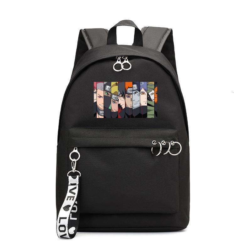 Japan NARUTO Small Backpack Notebook Travel School Bag