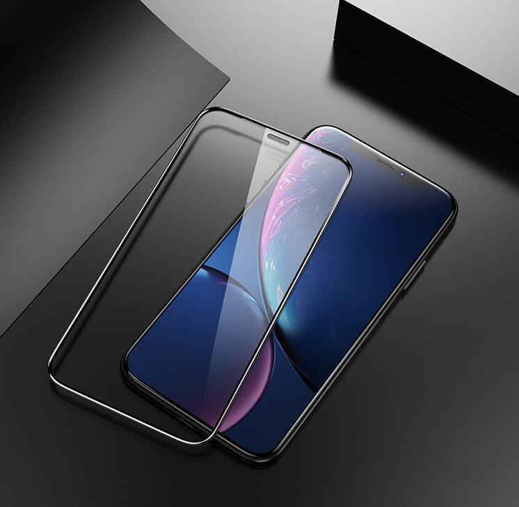 protecteur en verre pour l'iPhone X 8 XR 11 pro 6s, plus protecteur d'écran de verre iphone 7 8 XS MAX verre de protection