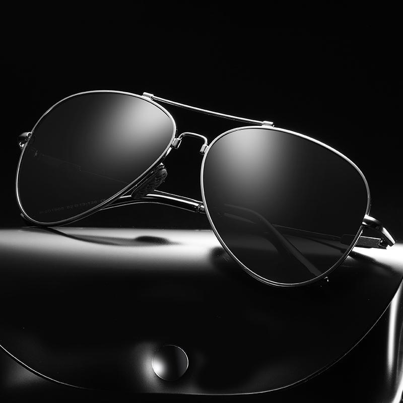 Мужские солнцезащитные очки для мужчин Новые УВ400 Мужчины Рыбалка Вождение Очки Поляризованные Очки Ретро Солнца Мода Винтажные Женщины Оттенки CKAHB ГЛВМА