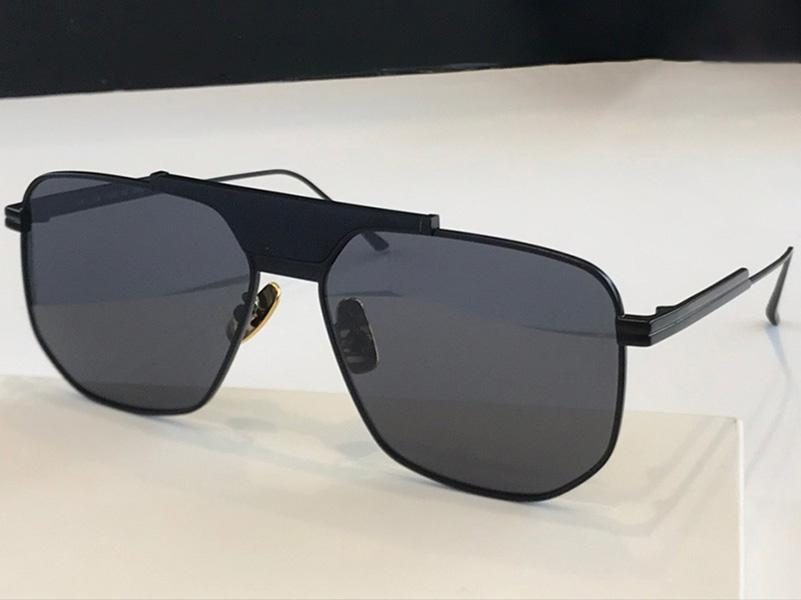 1036S Mode Femmes Sunglasses Square Cadre Cadre Verres Simple Business Style Lunettes Rectangle Laser Top Qualité UV400 Protect Gjha