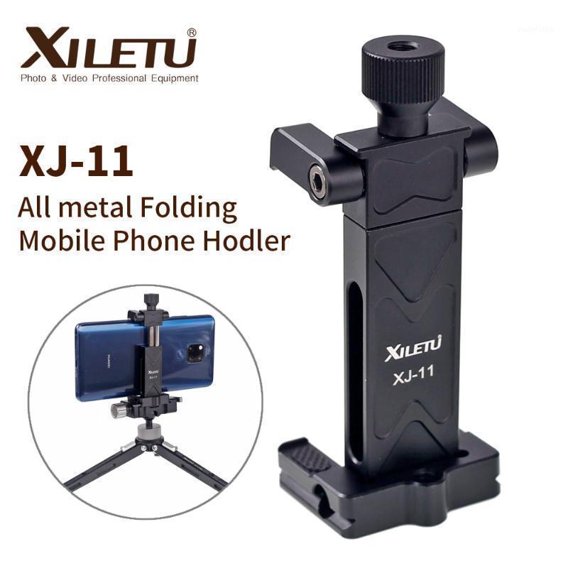 Xiletu xj-11high rolamento desktop bracket mini tabletop tripé e cabeça de bola para câmera de câmera de DSLR câmera smartphone1