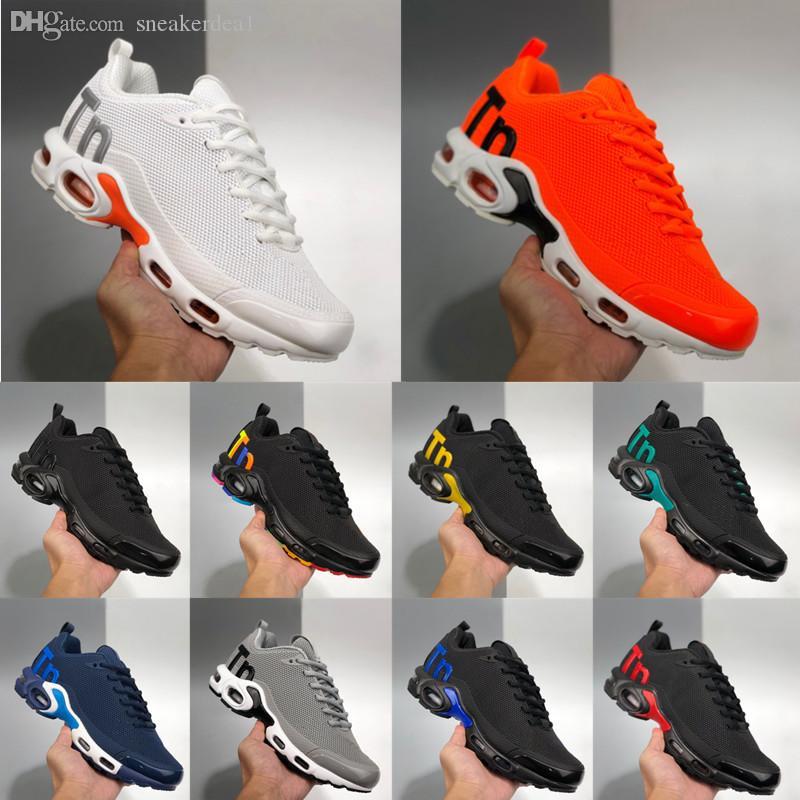 2020 Nike Air Max Plus TN الجديد مصمم الرجال Zapatillas TN احذية Chaussures أوم كرة السلة للرجال أحذية الرجال زئبقي TN الاحذية يورو 36-47