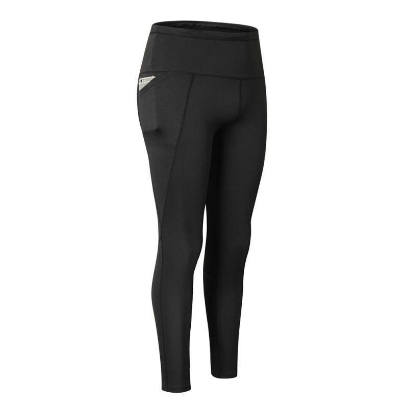 Leggings delgados de la cintura alta de tamaño grande para las mujeres que bailan el parche sin humo con pantalones de bolsillo pequeño gotico mujer