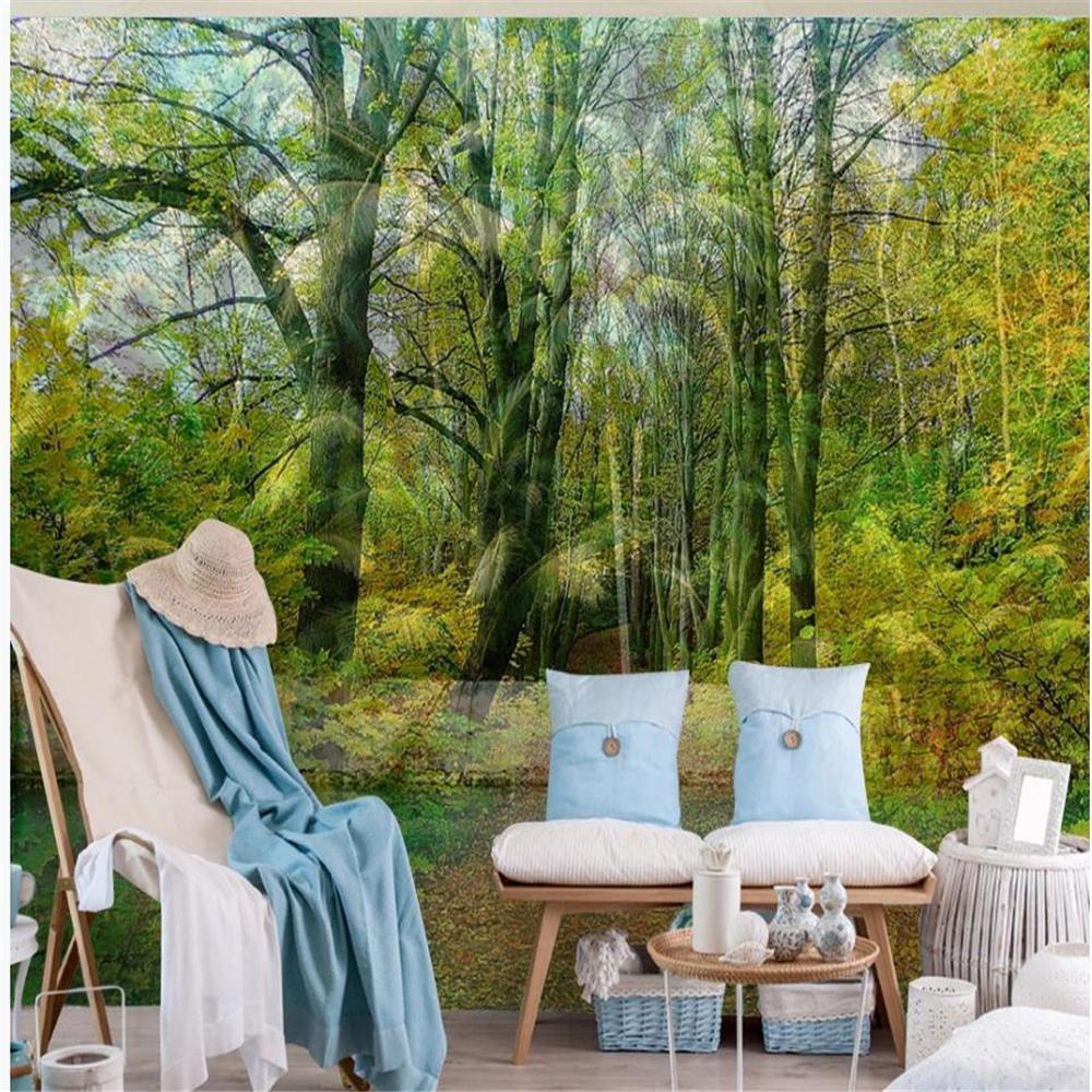 papier peint fonds d'écran fond de bois vert forêt frais beau papier peint de paysages