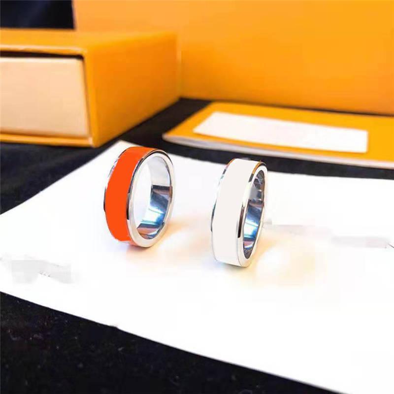 Bague de mode pour hommes Femmes Bagues Unisex Lady Bijoux 3 Couleurs Cadeaux Cadeaux Accessoires de mode bijoux