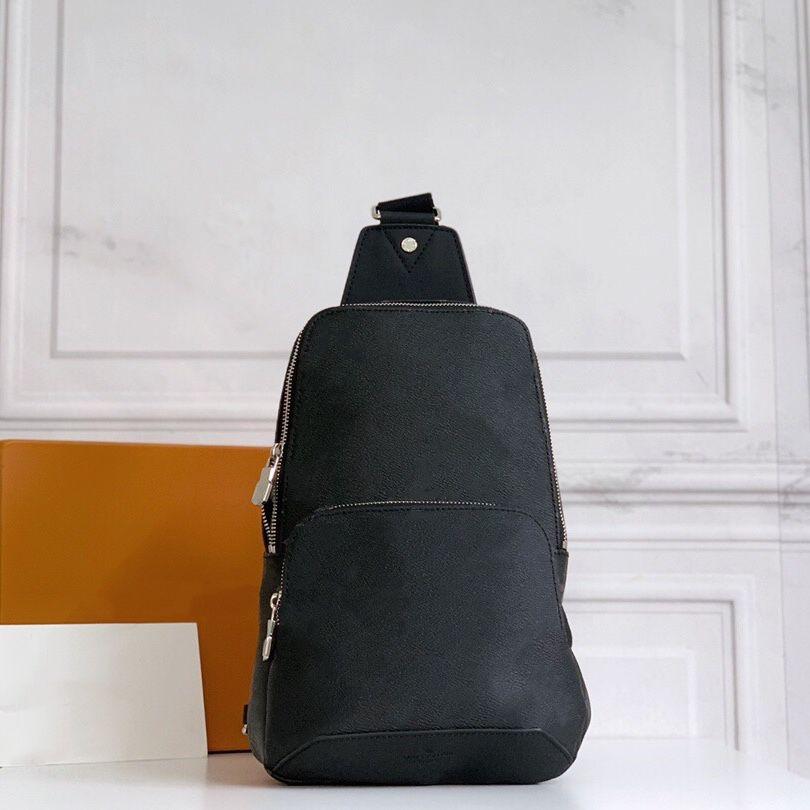 Compacto Sporty Safe Male Llevar Strap Strap Forma Bolsa Cuerpo Lateral Doble Smart Zip Cofre Classic Bag Hombro PCAKP