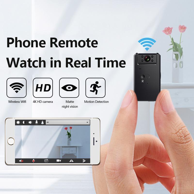 WD6 Mini-Kamera WiFi 1080P HD Wireless IP Micro Kamera-Fern Tiny Video Recorder Bewegungserkennung Mini Cam Nacht-Monitor