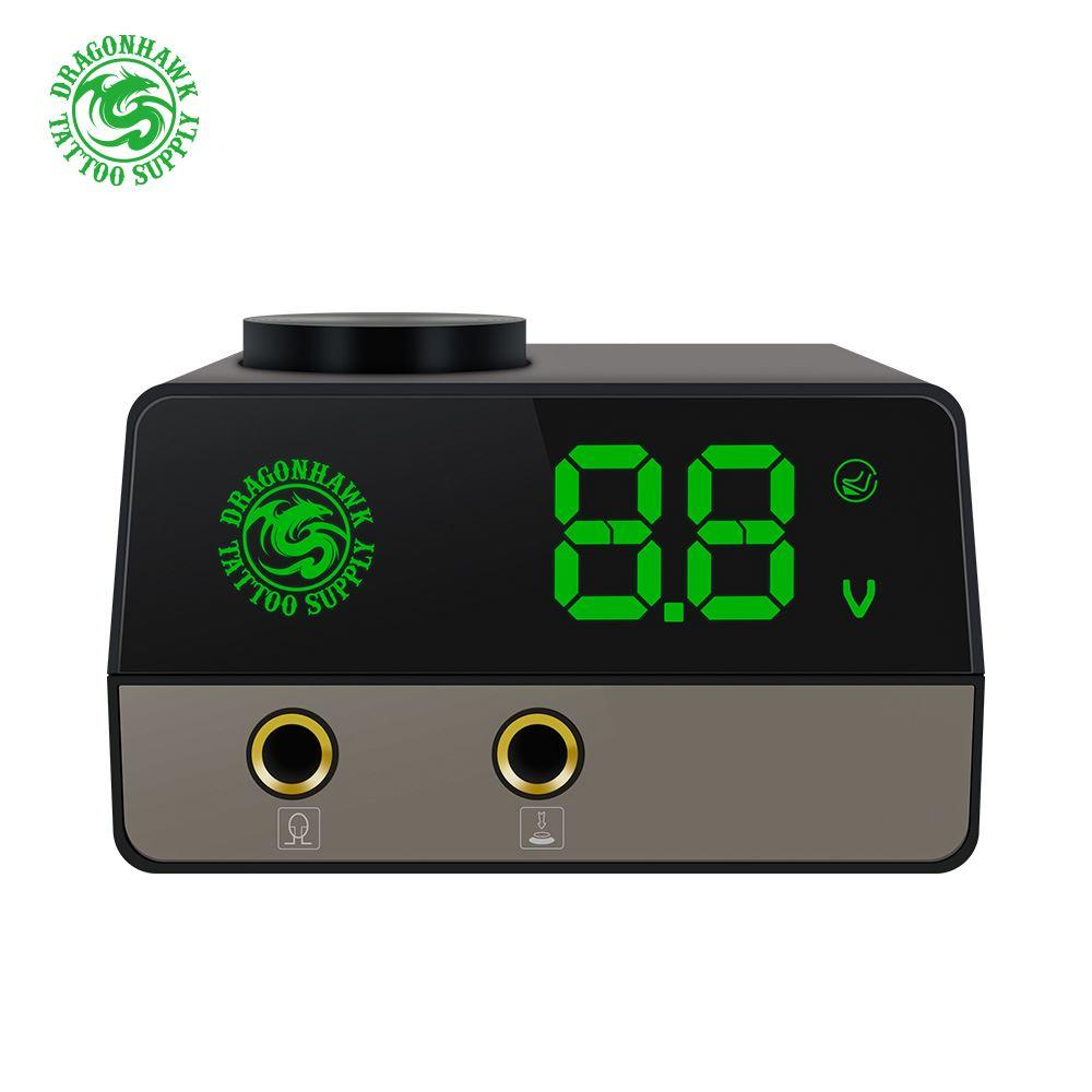 Dragonhawk Tattoo Power Supply Airfoil Portable Power Transformer LCD Screen 2A Current Dual Mode Switch P115
